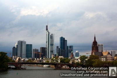 Stock photo of Frankfurt, Germany
