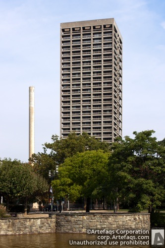 Stock photo of Goethe University AfE Tower - Frankfurt, Germany