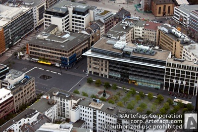 Stock photo of Goetheplatz, Frankfurt, Germany