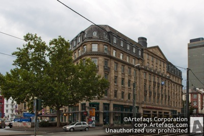 Stock photo of Hotel Hohenzollern, Frankfurt, Germany