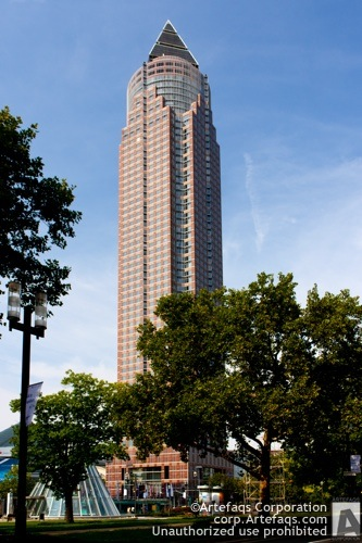Stock photo of MesseTurm - Frankfurt, Germany