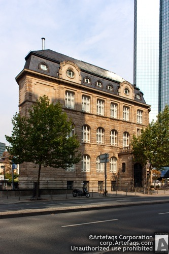 Stock photo of Villa Sander - Frankfurt, Germany