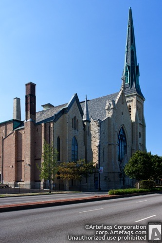 Stock photo of First Baptist Congregational Church - Chicago, Illinois