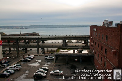 Photograph of Alaskan Way Viaduct - Seattle, Washington