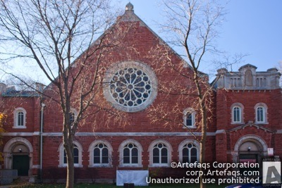 Stock photo of Hyde Park Union Church - Chicago, Illinois
