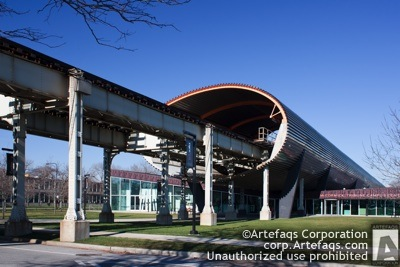 Stock photo of Illinois Institite of Technology, McCormick Tribune Campus Center - Chicago, Illinois