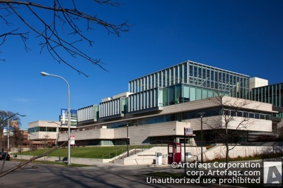 Stock photo of University of Chicago, Charles M Harper Center - Chicago, Illinois