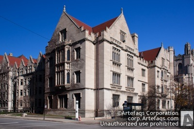Photograph of University of Chicago, Classics Building - Chicago, Illinois