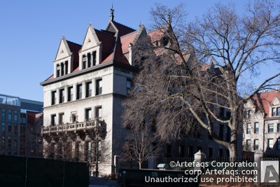 Stock photo of University of Chicago, Culver Hall - Chicago, Illinois