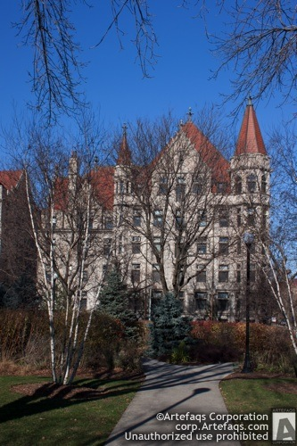 Photograph of University of Chicago, Foster Hall - Chicago, Illinois