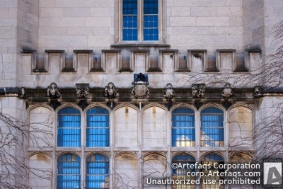 Stock photo of University of Chicago, Mitchell Tower - Chicago, Illinois