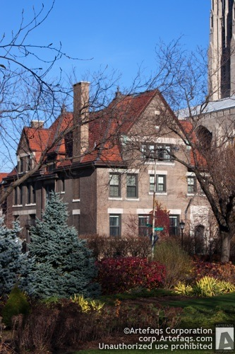 Photograph of University of Chicago, Presidents House - Chicago, Illinois