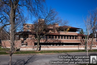 Stock photo of University of Chicago, Robie House - Chicago, Illinois