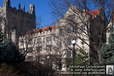 Photograph of University of Chicago, Social Sciences Reserch Building - Chicago, Illinois