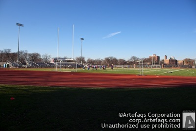 Stock photo of University of Chicago, Stagg Field - Chicago, Illinois