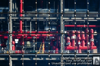 Stock photo of University of Chicago, West Campus Combined Utility Plant - Chicago, Illinois