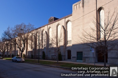 Stock photo of Universtiy of Chicago, Crown Field House, Chicago, Illinois