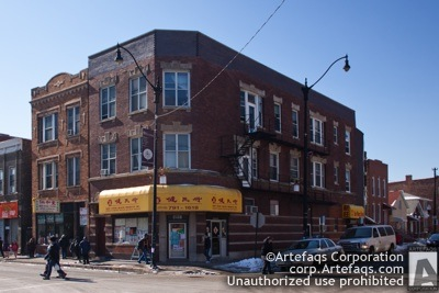 Stock photo of 2400 South Wentworth - Chicago, Illinois