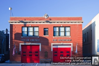 Photograph of Chicago Fire Department Engine 8 - Chicago, Illinois