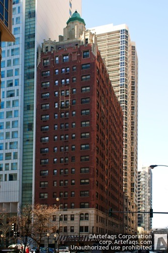 Stock photo of Delaware Towers, Chicago, Illinois