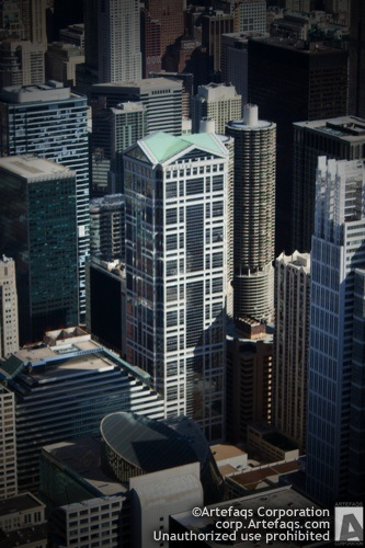 Stock photo of 77 West Wacker, Chicago, Illinois