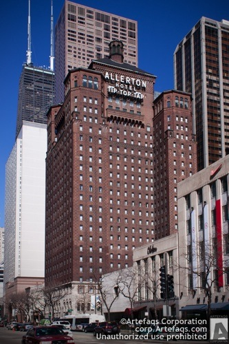 Stock photo of Allerton Hotel - Chicago, Illinois