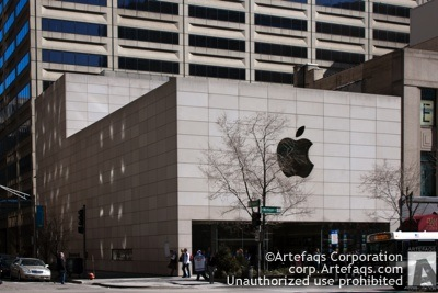 Photograph of Apple Store North Michigan Avenue - Chicago, Illinois