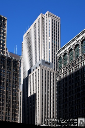 Stock photo of Bank of America Building - Chicago, Illinois
