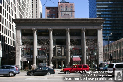 Stock photo of First National Bank of Chicago - Chicago, Illinois