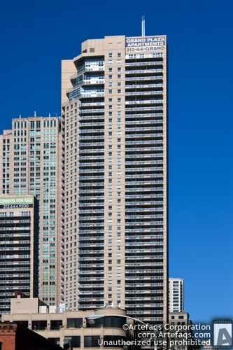 Photograph of Grand Plaza - Chicago, Illinois