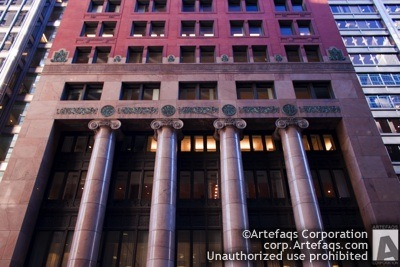Stock photo of Harris Bank Building - Chicago, Illinois