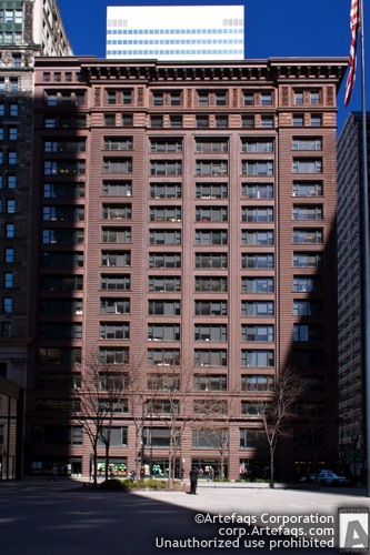 Stock photo of Marquette Building - Chicago, Illinois