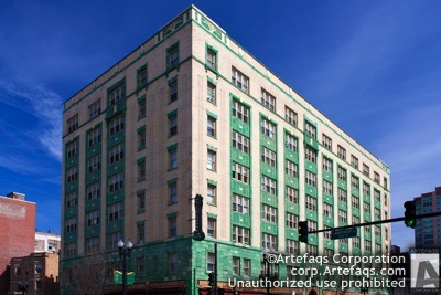 Stock photo of Belle Shore Hotel, Chicago, Illinois