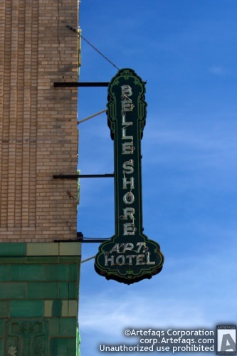 Stock photo of Belle Shore Hotel - Chicago, Illinois