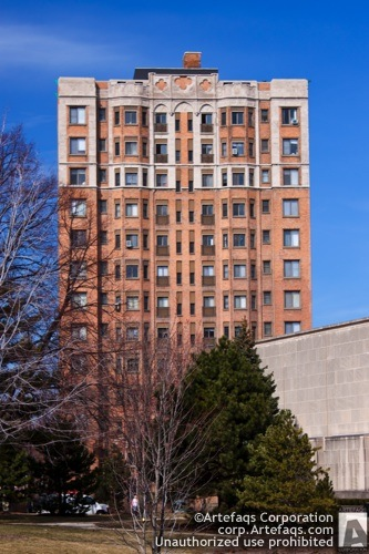 Photograph of Campus Tower Apartments, 1033 West Loyola - Chicago, Illinois