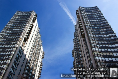 Stock photo of Hollywood Towers - Chicago, Illinois