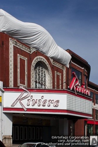 Stock photo of Riviera Theater - Chicago, Illinois