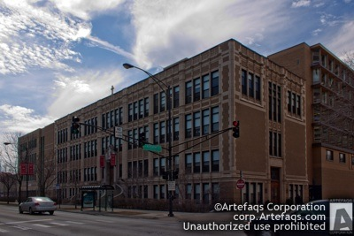 Stock photo of Sacred Heart Schools, Sheridan North Building - Chicago, Illinois