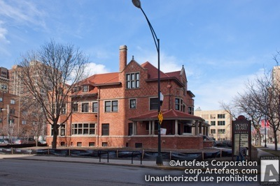 Stock photo of Sacred Heart Schools Conway House, Chicago, Illinois