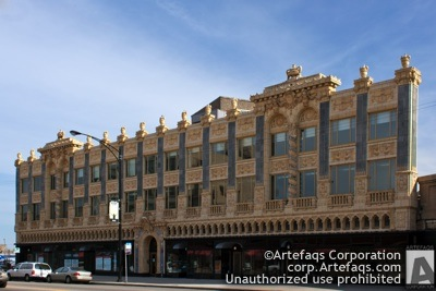 Stock photo of Uptown Broadway Building - Chicago, Illinois