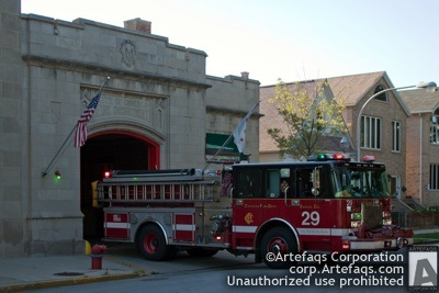 Photograph of Chicago Fire Department Engine 29 - Chicago, Illinois