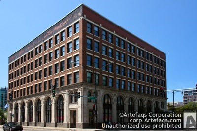 Photograph of Mid-City Trust and Savings Bank - Chicago, Illinois