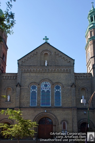 Stock photo of Saint Mary of Perpetual Help Church - Chicago, Illinois