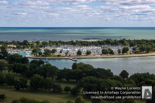 Photograph of Montrose Harbor - Chicago, Illinois