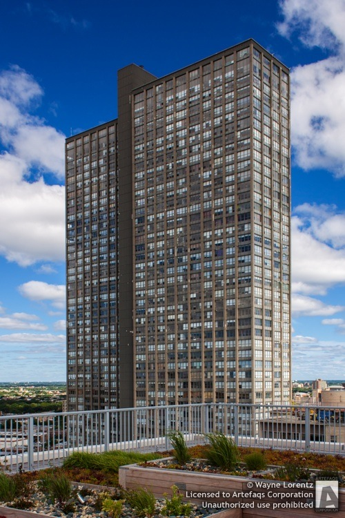 Stock photo of Park Place Tower - Chicago, Illinois