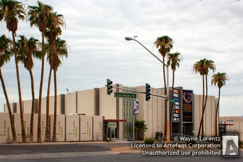 Photograph of Cultural Corridor Theater Center, Las Vegas, Nevada, S