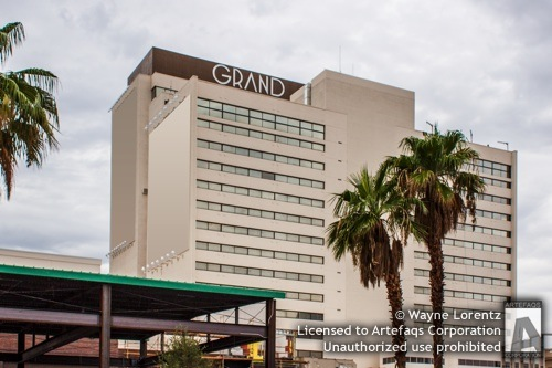 Stock photo of Downtown Grand, Las Vegas, Nevada