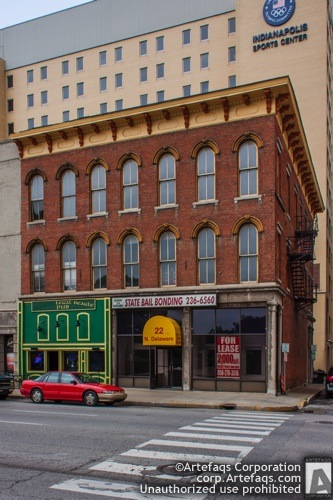 Photograph of 22 North Delaware Street - Indianapolis, Indiana
