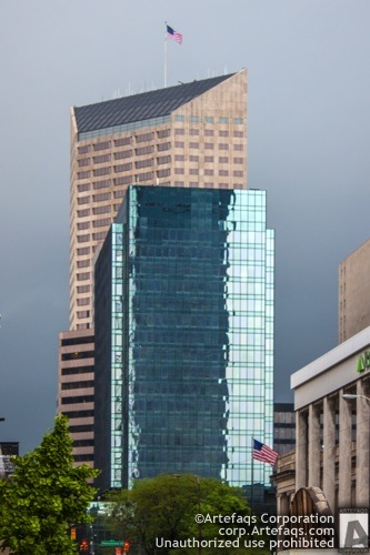 Photograph of ATT 220 Building - Indianapolis, Indiana, May, 2012, 200 North Mer