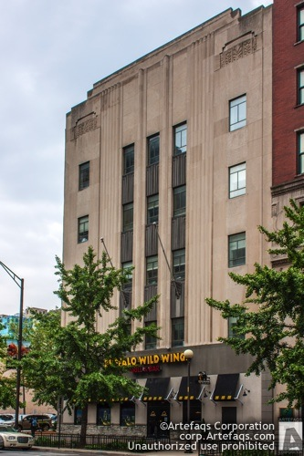 Photograph of Barnes and Thornburg Building - Indianapolis, Indiana, May, 2012, 11 South Mer